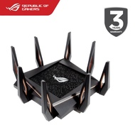 ASUS ROG RAPTURE GT-AX11000 TRI-BAND WIFI 6 802.11AX GAMING ROUTER