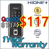 [Hione+] New 3Way Fingerprint lock / M-1190S / WF20 / WF21 / G-Swipe / Gateman / SHS2920