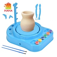 Clay Pottery Wheel Craft Kit Ceramic Machine Without Clay