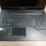 Asus rog G703GM 17.3吋 i7-8750h 16g ram 256ssd+1000gb hd nvidia gtx1060