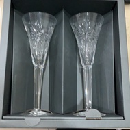 WATERFORD 千禧年收藏水晶杯組