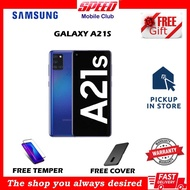 SAMSUNG GALAXY A21S 3/32GB - 4/64GB - 6/64GB BRAND NEW  WITH WARRANTY - STORE PICKUP - FREE GIFTS