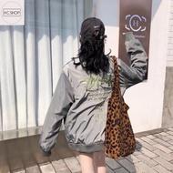 [H.C.shop] Stussy飛行夾克背後刺繡薄外套