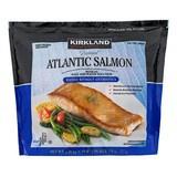 (含運)好市多線上購 科克蘭 冷凍鮭魚排1.36公斤