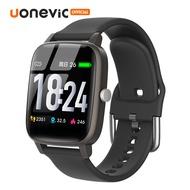 Uonevic ดูสมาร์ท V98L หน้าจอ HD IP67 กันน้ำทุกสภาพอากาศแสดงชีวิตยาวการตรวจสอบสุขภาพแฟชั่นสายรัดข้อมือสำหรับApple/Android