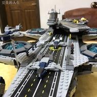 ♛❐♠樂高76042軍事復仇者聯盟神盾局航母航空母艦拼裝積木模型玩具