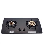 (全省安裝)林內美食家雙面檯面爐黑色與白色(與RB-2GMB同款)瓦斯爐RB-2GMB_LPG