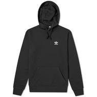 ADIDAS originals essential hoody 小LOGO 黑色 帽T 男款 fm9956