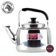 最新款ZEBRA斑馬牌18-8不銹鋼笛音壺 7.5L 斑馬牌不銹鋼笛音壺7.5L ㊣304不鏽鋼茶壺