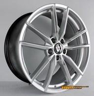 【台灣輪胎王】VW 類原廠 GOLF R 鋁圈樣式 19吋 鋁圈 5X112 8.5J ET45 高亮銀