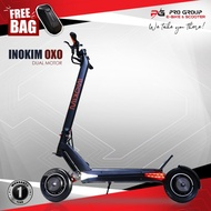 Electric scooter bike sales inokim oxo ox/o ebike escooter 60v foldable dual motor lithium battery tubeless tires portable e-scooter e-bike for adults same day delivery COD pro group warranty fast charging charger hydraulic disk brake electronic vehicle
