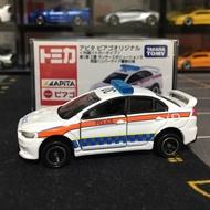 稀有釋出!Tomica 外國警車第1彈,三菱Mitsubishi EVO X警車,英國警察仕樣,APITA