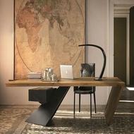 150公分-松木實木書桌/辦公桌X輕工業風X北歐風X實木家具X訂製家具-可訂製