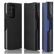 araree SAMSUNG Galaxy Z Fold2 翻頁式皮套【藍】GP-FFF916