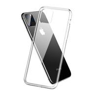 เคสใส TPU เคสไอโฟน เคสซิลิโคน TPU Caseกันกระแทก แบบนิ่ม สำหรับ iPhone11 iPhone12 Pro Max 12Mini6 6s 7 8 Plus X XR XS MAX 11Pro Max Case for Apple