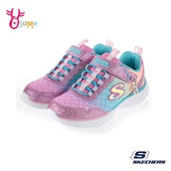 Skechers童鞋 女童運動鞋 GLIMMER KICKS 輕量 美人魚漸層 記憶鞋墊 跑步鞋 慢跑鞋 T8269