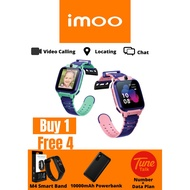 Imoo Watch Phone Z5(HD VIDEO CALL, Support SIM CARD,GPS +GLONASS) 100% ORIGINAL