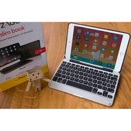 四種模式+鍵盤可分離! iPad mini 4變成小筆電 ※台北快貨※美國原裝 ZAGG Slim Book鍵盤+保護套