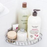 【3M】無痕304金屬防水收納-浴室三角置物架 免釘免鑽