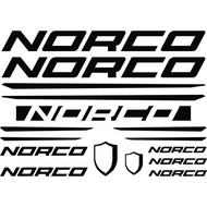 Norco Bike Frame Decals