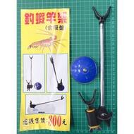 【鄭哥釣具】TANAKA 幸福 釣蝦跨竿架 吸盤式架竿器 固定式架竿器 跨竿架 竿架 釣蝦 可鎖工具盒、工具箱