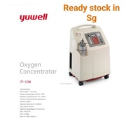 Yuwell 10L Oxygen Concentrator, 95.5% To 87%, Capacity: 10 L