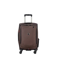 DELSEY Paris Delsey Luggage Cruise Lite Softside Carry-on Exp. Spinner Suiter Trolley, Black