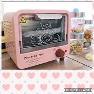 全新 7-11 拉拉熊烤箱 烤麵包機 粉色可愛 San-x Mochi 家族 雙層烤箱