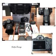 Canon 700D + 18-55 + UV + Hood 二手