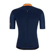 2021 Santini 【色彩】短袖車衣- 海軍藍