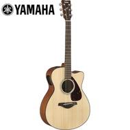 【YAMAHA 山葉】FSX800CNT 電民謠木吉他 原木色(附贈琴袋 背帶 以及彈片)