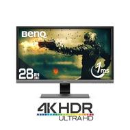 BenQ 28吋 EL2870U 4K HDR 反應時間1ms 舒視屏護眼螢幕