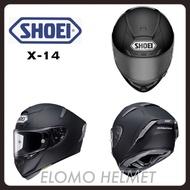 ELOMO愛帽客🏍日本原裝SHOEI X-14 素色 全罩式安全帽