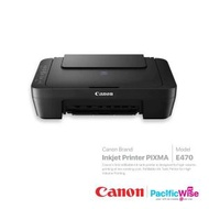 Canon Inkjet Printer Pixma E470