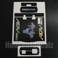 Slim motorcycle Iu Sticker Honda ADV 3D Holographic