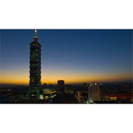 BD,HD 影片素材:01231 P04Mrl-12a 跨年煙火秀 & 101大樓