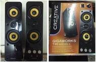 CREATIVE GigaWorks T40 II 2聲道喇叭