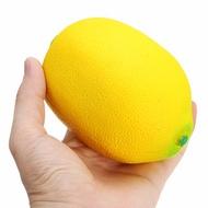 Squishy Yellow Lemon 12cm Big Soft Slow Rising Fruit Collection Gift Decor Toy