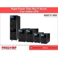 Right Power True Online UPS Titan Neo P Series 3KVA (Titan Neo P3K)