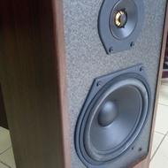 Hinson model-8 二手德國喇叭 雙聲道 家庭音響 桌上型音響 60-120瓦 6歐姆 被動式喇叭 兩聲道