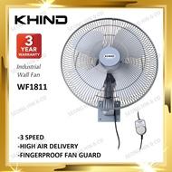 "kipas dinding kipas dinding kdk KHIND WF1811 Industrial Wall Fan 18"" / KIPAS DINDING"