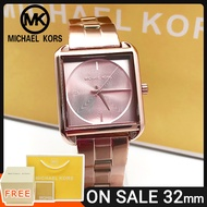 Mk Watch for Women and Men Pawnable Sale Original Authentic Rose Gold Michael Kors Watch for Women Original Sale Casual Formal Watch for Men and Women Watch for Women Square Style Stainless 3644-4