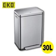 EKO - 靜音腳踩垃圾桶 EKO9368 (砂鋼色-30升)