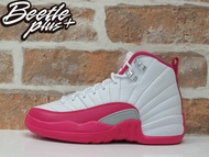 女鞋 BEETLE NIKE AIR JORDAN 12 RETRO GS 粉紅 情人節 510815-109