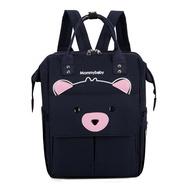 กระเป๋าคุณแม่ Out 2024ทารกแรกเกิดกระเป๋าเป้สะพายหลังสำหรับคุณแม่ตั้งครรภ์เดินทางจากแม่กระเป๋าเด็กแฟชั่นขนาดใหญ่ไหล่ Light