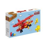 【Fun心玩】NO.7523 BanBao 邦寶積木 SNOOPY 史努比系列 紅男爵戰機(樂高Lego通用) 積木
