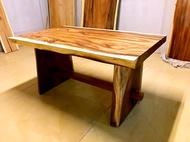 印尼胡桃木150餐桌(尺寸歡迎來電詢問) 原木餐桌 獨各式板餐桌 小餐桌 實木餐桌A.H.Furniture   餐桌:150*85*76