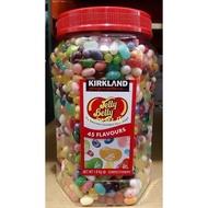 【小如的店】好市多代購~KIRKLAND Jelly Belly 吉力貝 彩色豆水果軟糖/糖豆/雷根糖(每罐1800g)