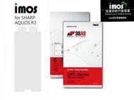 """""""扛壩子"""" imos官方授權總經銷 免運 IMOS 3SAS SHARP AQUOS R3 6.2吋 螢幕保護貼雷射切割完美貼合"""