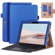 Business stand case for Surface Go 2 cover with handrest pocket card slots Go2 holder protector